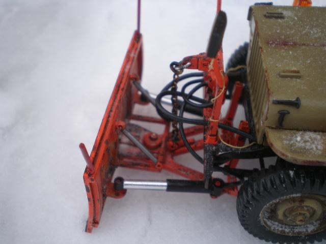 jeep willys snow plow Pb211610