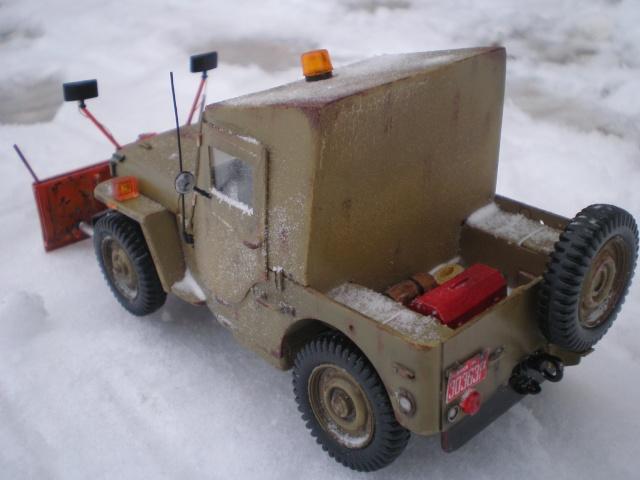 jeep willys snow plow Pb211611