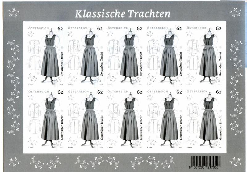 """trachten - Sondermarke """"Klassische Trachten"""" Frage Scanne51"""