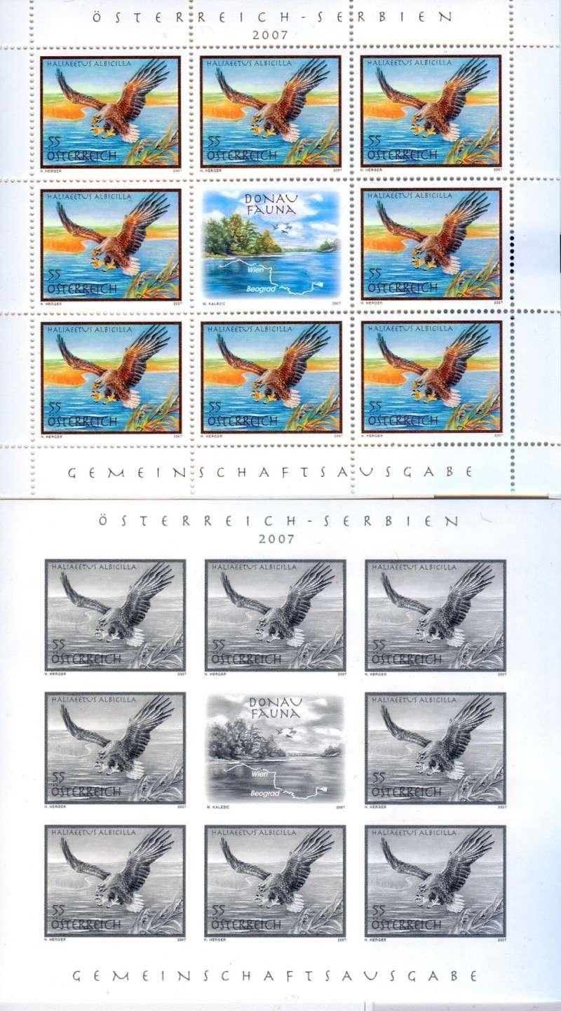 Österreich - Specimen, Schwarzdrucke, Buntdrucke Scanne57