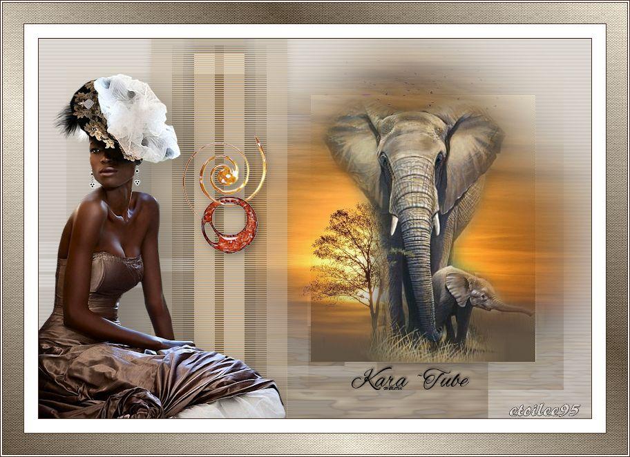 Beauté africaine(Psp) Fond22