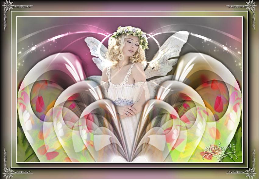 La fée papillon(Psp) Fond36