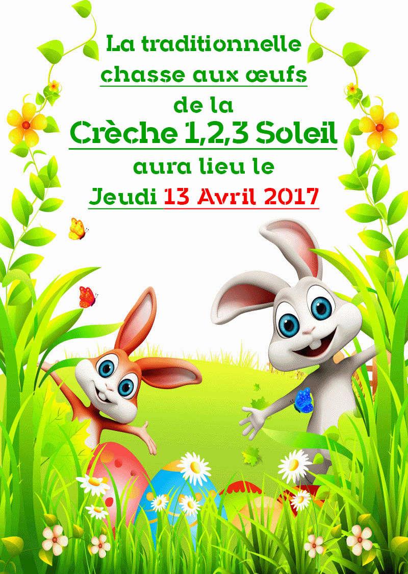 Affiche pour Pâques  Creche10