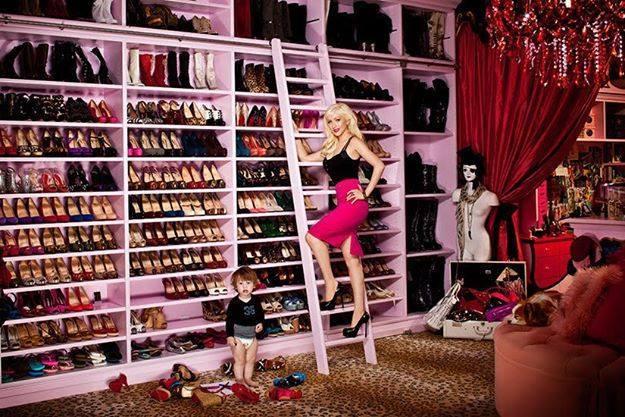 Dhoma e gardërobës, ëndrra e ç'do femre! 12109_10