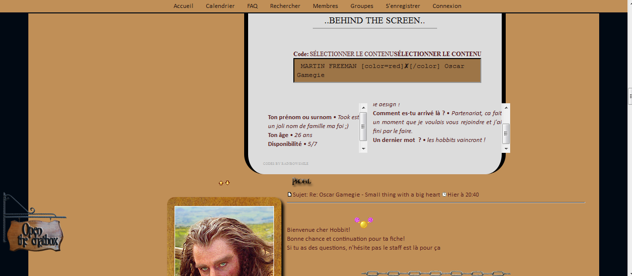 Problème de fiche Screen11
