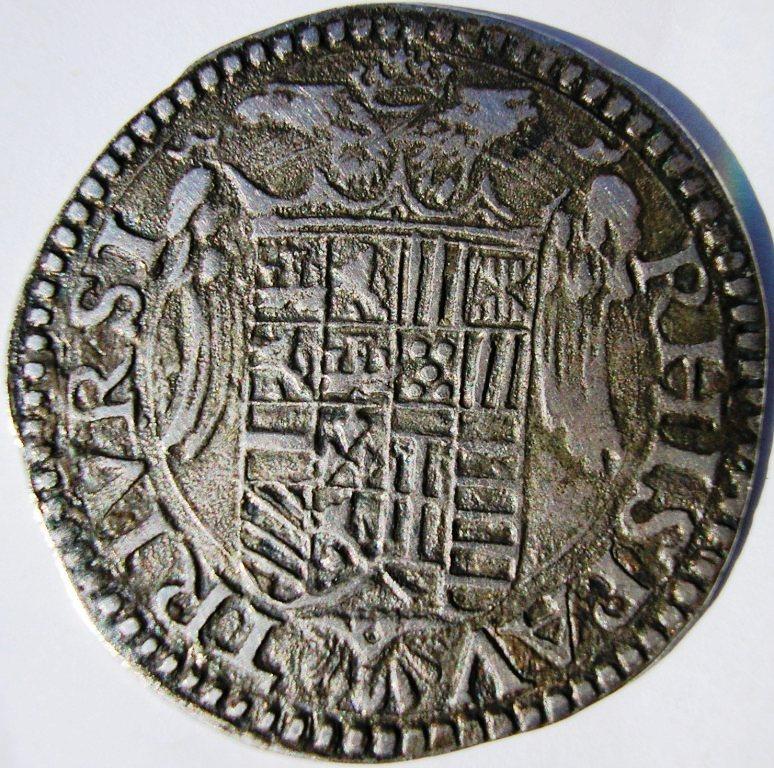 2 carlinos de Albertino - Nápoles (1519 a 56) Carlos11