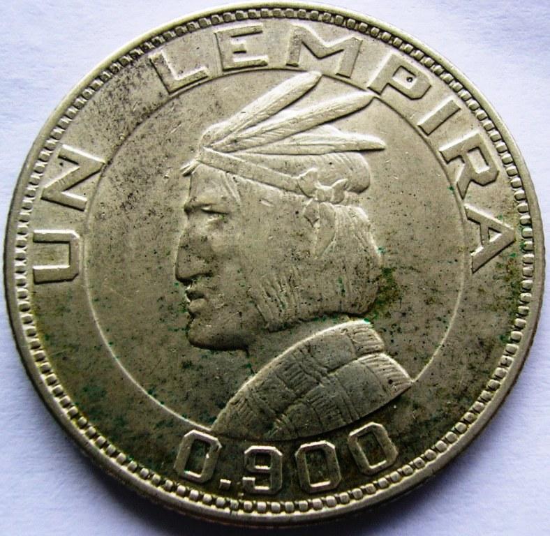 Lempira 1932 Hondur11