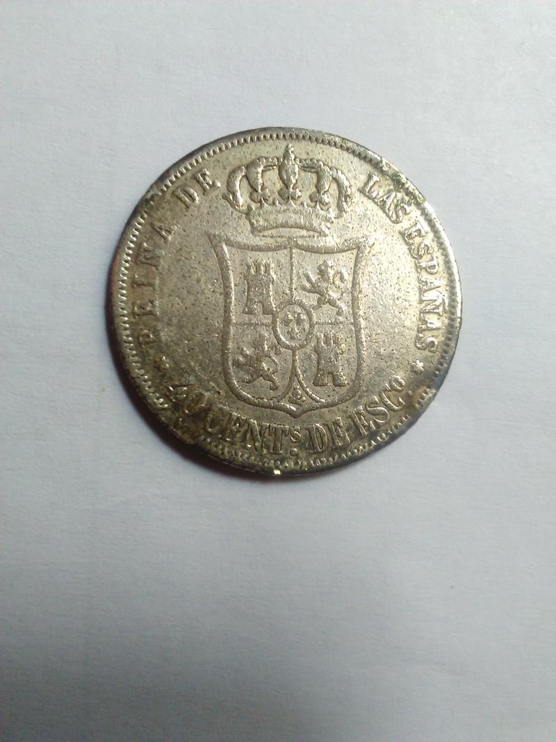 20 céntimos de escudo 1866 Isabel II 20_cen12