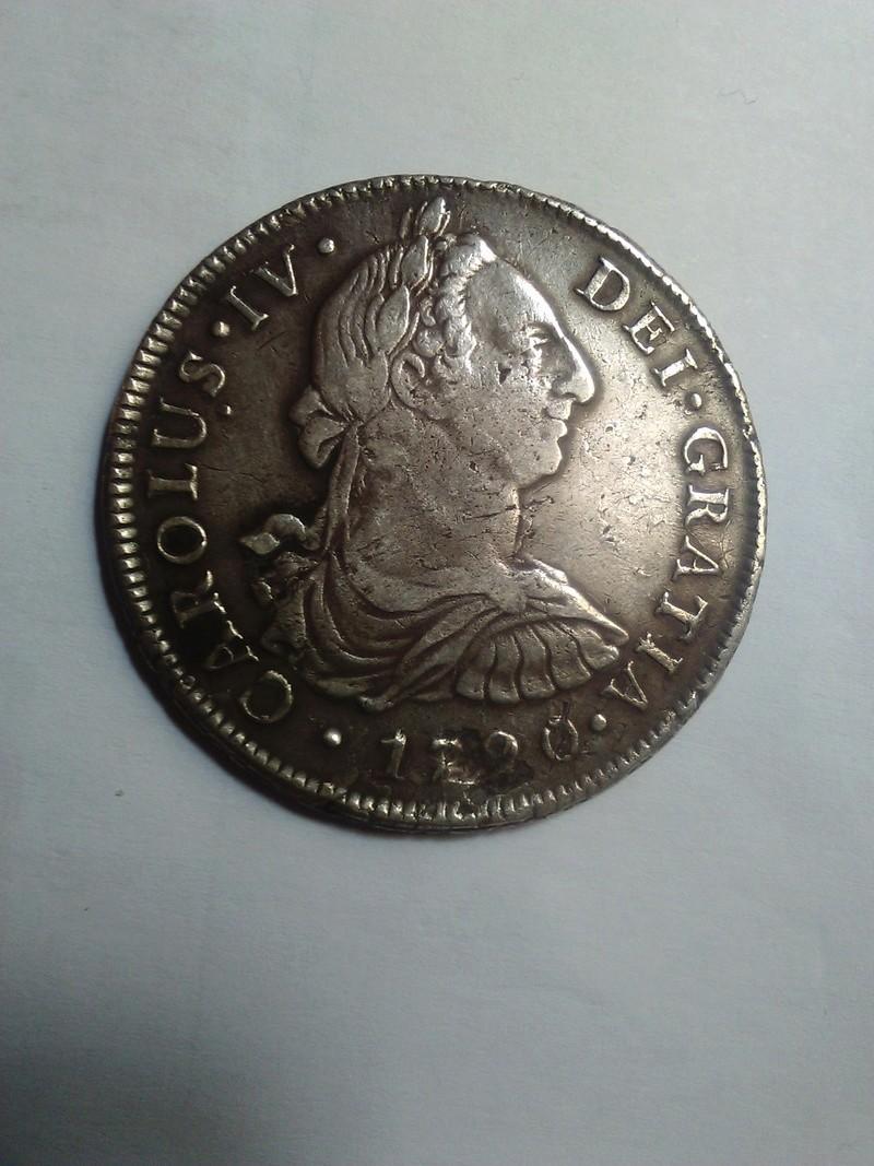 8 Reales 1790 Carlos IV Lima 8_real13