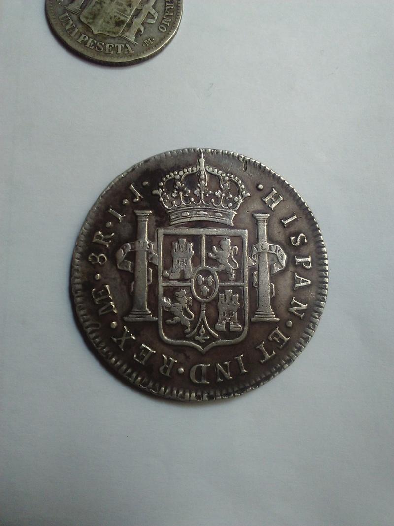 8 Reales 1790 Carlos IV Lima 8_real15
