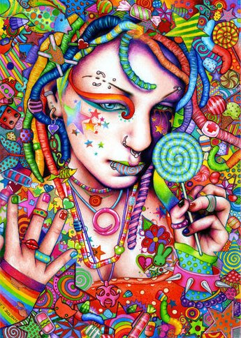 Psychedelic Art Candyg10