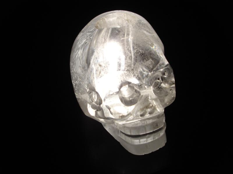 présentation exceptionnelle du Crâne de cristal des collections du musée du quai Branly Dsc01112
