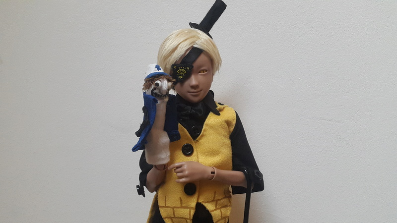 Reality is an illusion ! Buy gold ! Bill Cipher [Youpladoll] 20170226