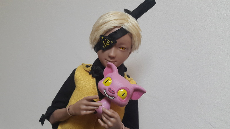 Reality is an illusion ! Buy gold ! Bill Cipher [Youpladoll] 20170227