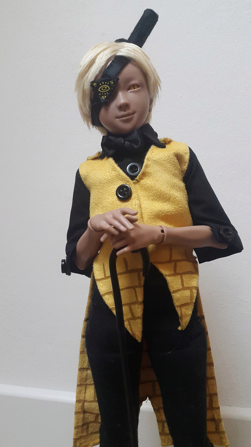 Reality is an illusion ! Buy gold ! Bill Cipher [Youpladoll] 20170229