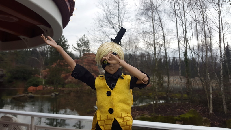 Reality is an illusion ! Buy gold ! Bill Cipher [Youpladoll] 20170236