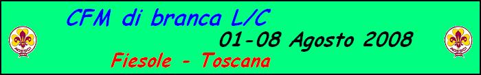 CFM L/C Fiesole Agosto 2008