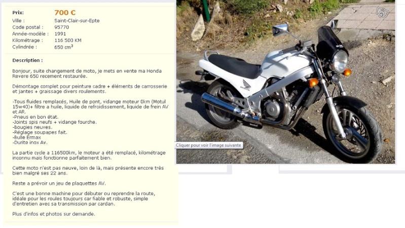 Vends NTV Revere 650 ( vendue ) Annonc10