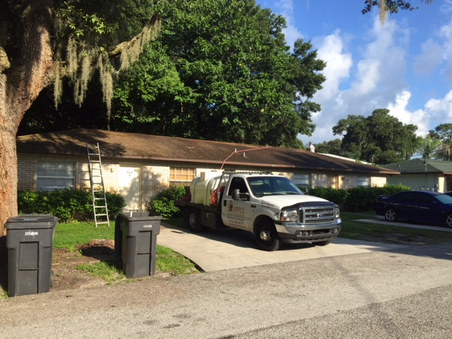 Tile Roof Cleaning In Tampa Florida Area Img_3110