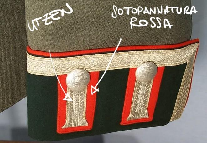 Litzen cousues sur tissu rouge Scherm11