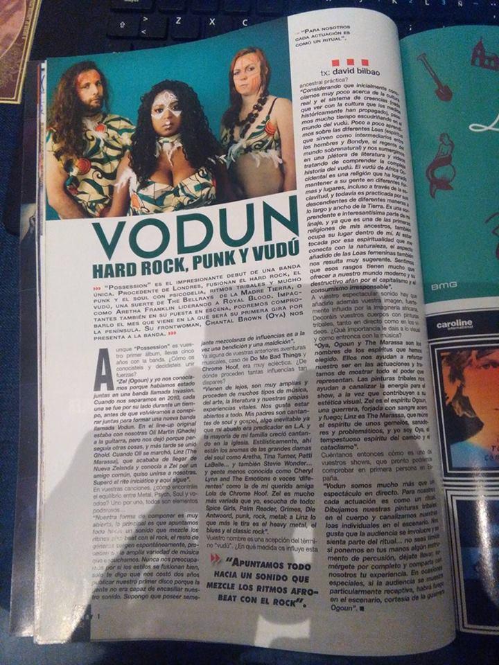 "VODUN, heavy afro-soul psych magic! Nuevo disco ""Ascend"" en septiembre - Página 2 18386410"