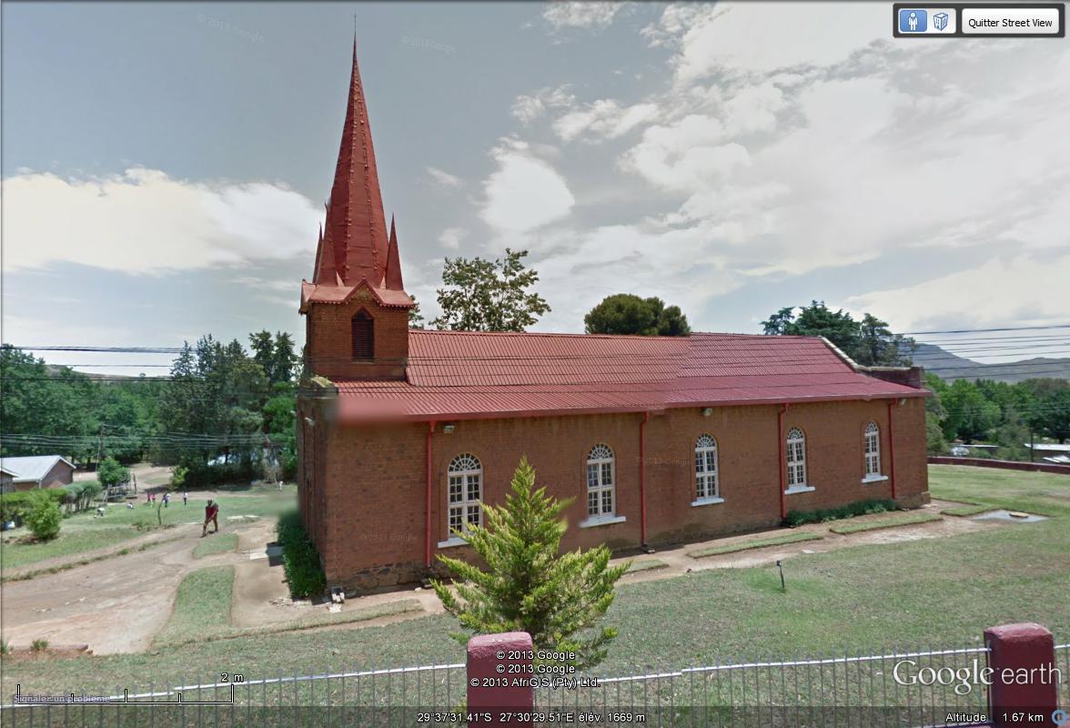 [Lesotho] - Street-view les cartes postales Aglise11