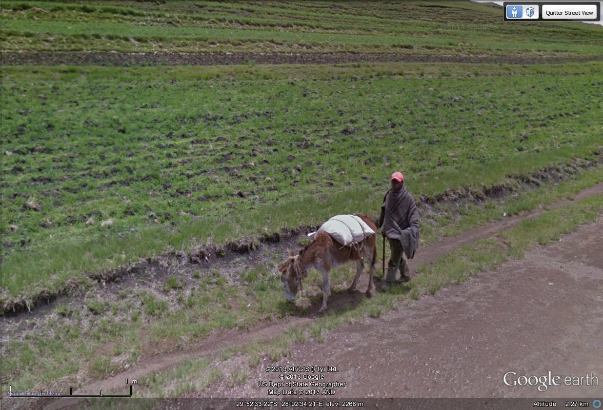 [Lesotho] - Street-view les cartes postales Ane10