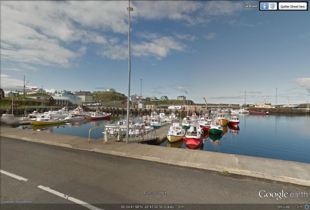 [Islande] - Street-view les cartes postales Bateau11