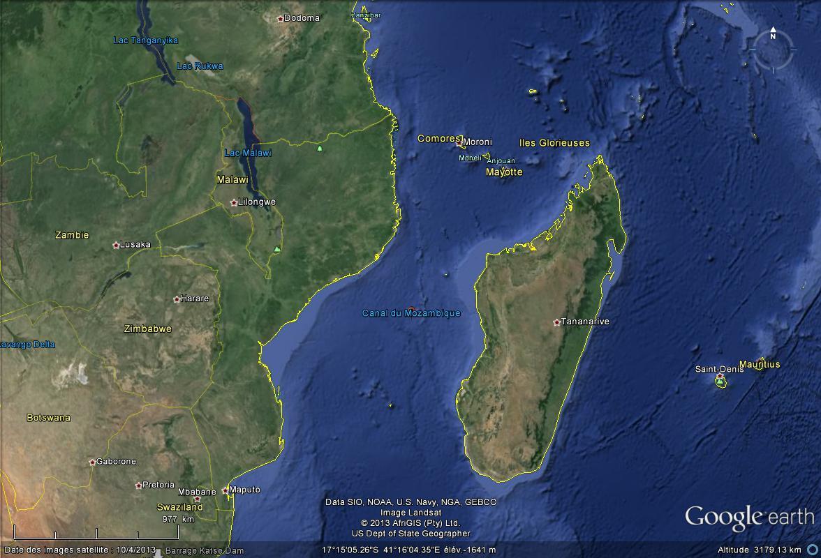 Animaux : Les coelacanthes du Canal du Mozambique Canal_10