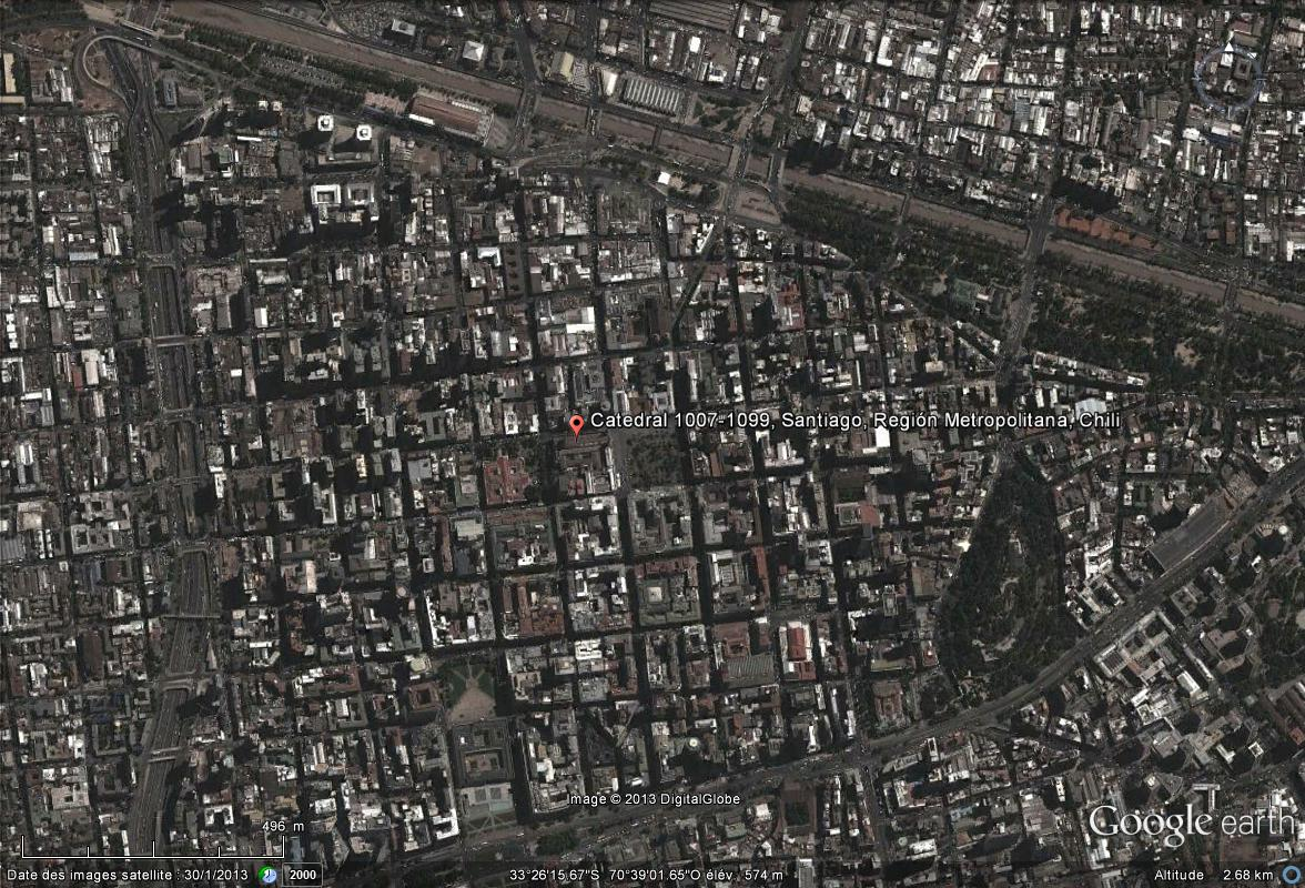 [Chili] - La cathédrale métropolitaine de Santiago Cathed10