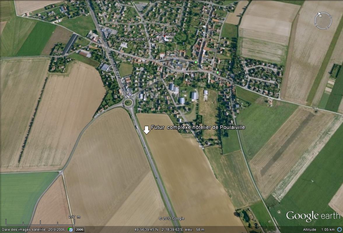 [Bientôt visible sur Google Earth] -Le futur complexe hôtelier de Poulaiville Somme Comple10