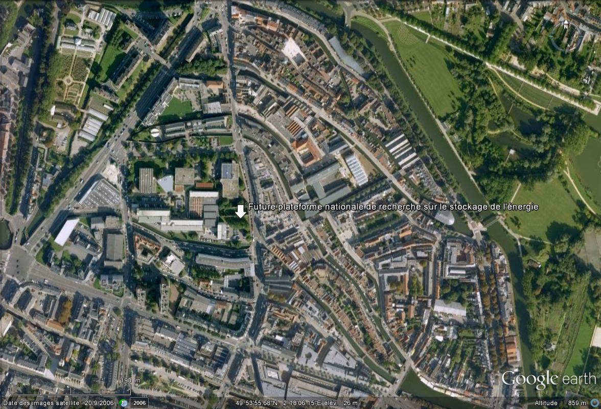 [Désormais visible sur Google Earth] - Plateforme nationale de recherche sur le stockage de l'énergie Future10