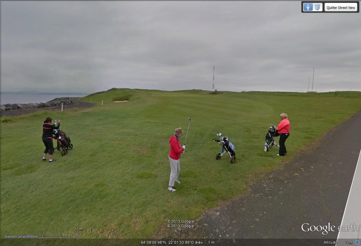 [Islande] - Street-view les cartes postales Golf10
