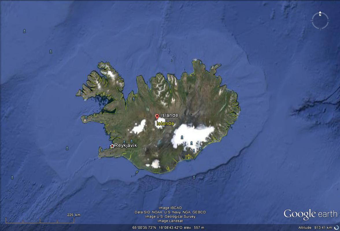 [Islande] - Pays Drapeau Hymne Island10