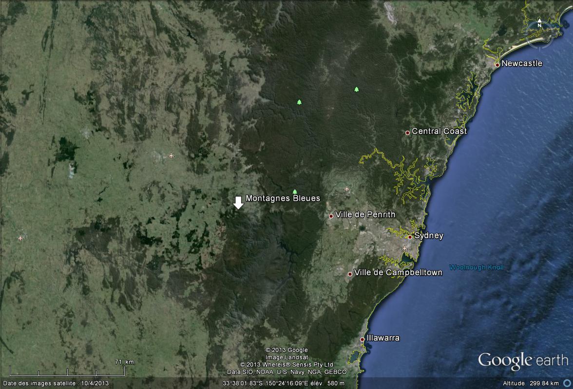 [Australie] - Le feu menace la périphérie de Sydney Montag10