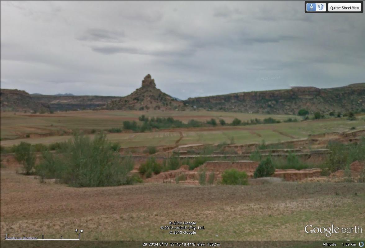 [Lesotho] - Street-view les cartes postales Montag11