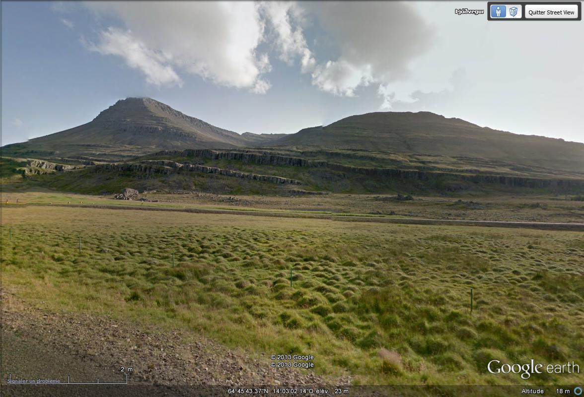 [Islande] - Street-view les cartes postales Montag12