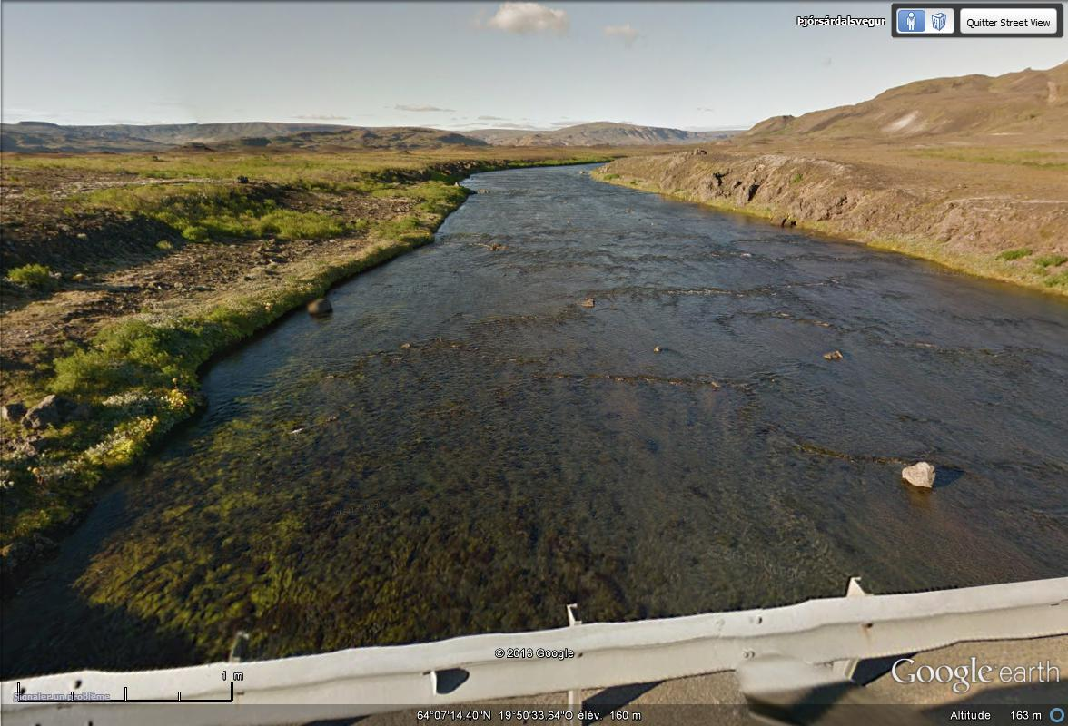 [Islande] - Street-view les cartes postales Rivier11