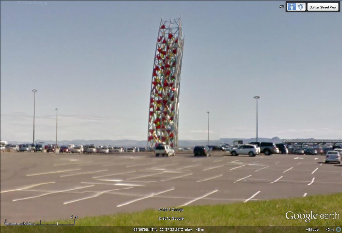 [Islande] - Street-view les cartes postales Sculpt10