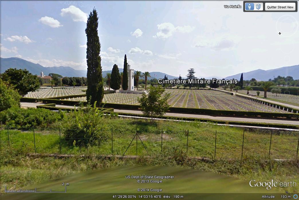 [Italie] - Cimetière militaire français de Venafro Street49