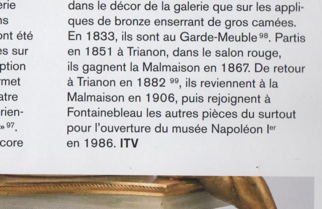Exposition : Le surtout offert par Charles IV à Napoléon 1er 00112