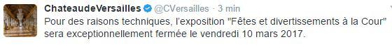 Exposition fêtes et divertissements à Versailles (2016-2017) - Page 5 888812
