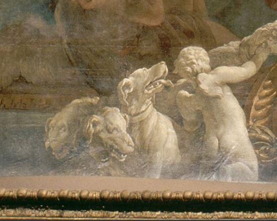 Le chien Cerbère, gardien des Enfers Cerbyr10