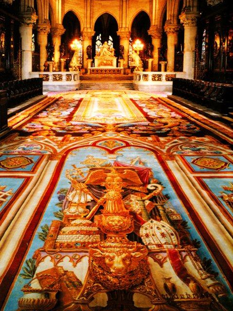 Notre-Dame de Paris. Exposition « Tapis du choeur » Img09411