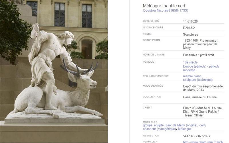 Méléagre, héros antique à Versailles Qqqqq11
