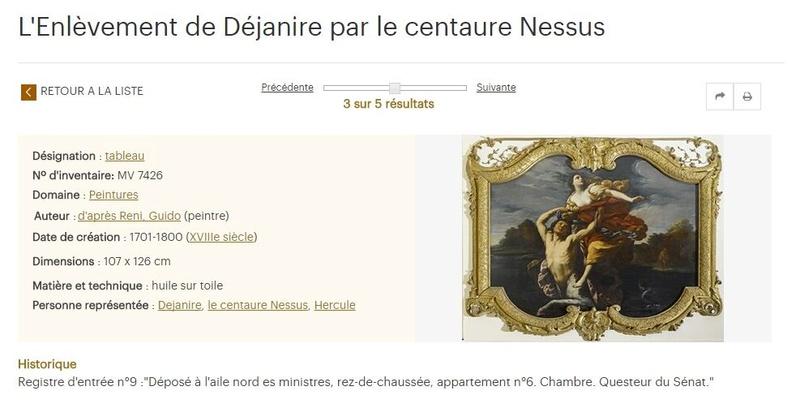 Le centaure, une créature fabuleuse à Versailles  Ryni10