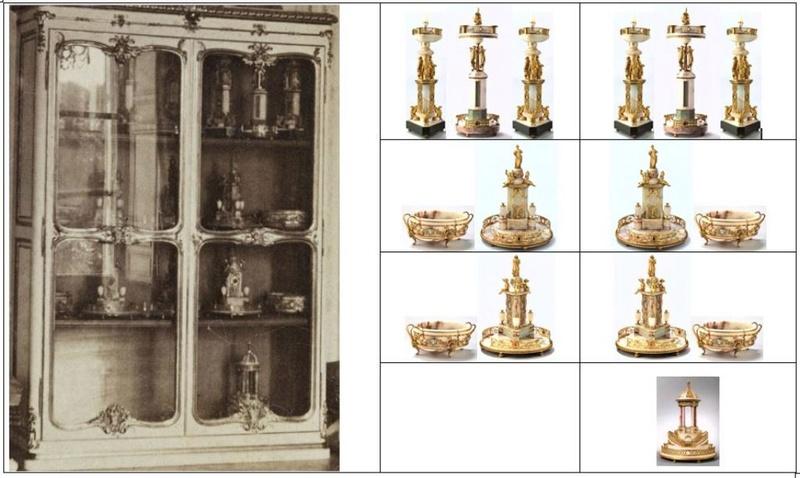 Exposition : Le surtout offert par Charles IV à Napoléon 1er Surtou10