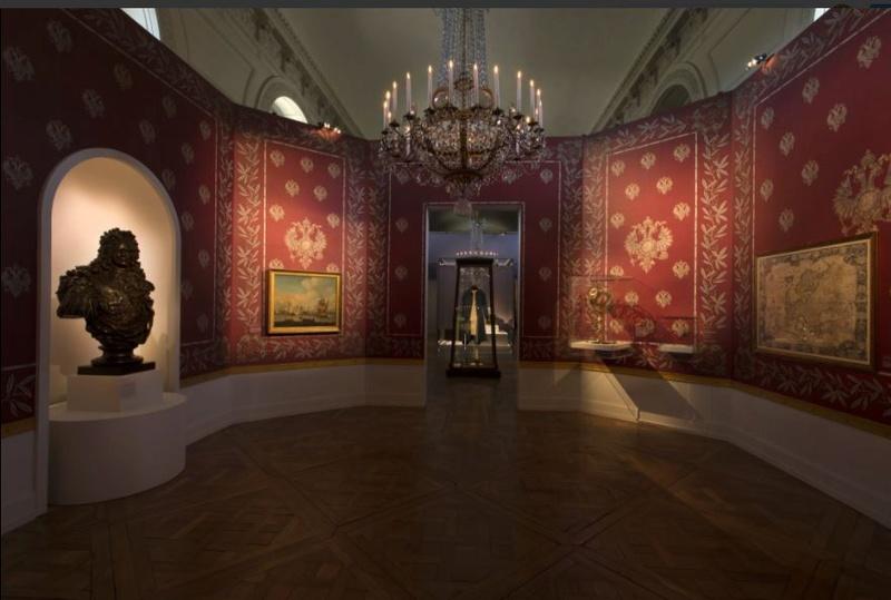 Un Tsar en France, Pierre le Grand et la cour de Louis XV Za10