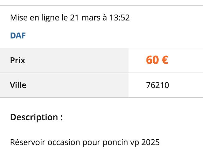 [lbc] réservoir, arceau, joint de coque VP 2025 Captur15