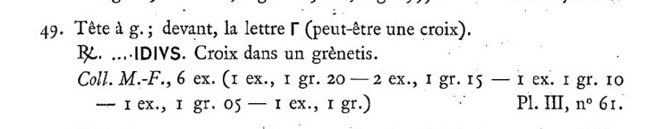Denier Patrice Nemfidius. Catalo11